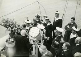 France Marine Céremonie Catastrophe Maritime? Ancienne Photo Meurisse 1932 - Boats