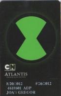 Atlantis Casino Player Card : Paradise Island Bahamas - Casino Cards