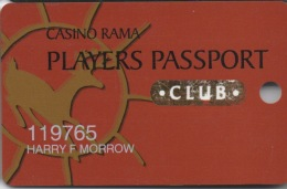 Casino Rama Players Passport : Canada - Casino Cards