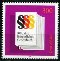 BRD - Mi 1874 - ** Postfrisch (A) - 300Pf                    Bürgerliches Gesetzbuch - BRD