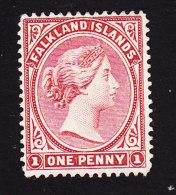 Falkland Islands, Scott #12a, Mint No Gum, Queen Victoria, Issued 1891 - Falkland Islands