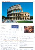 Il Colosseo, Roma, Vatican City Postcard Posted 2006 Stamp - Vatikanstadt