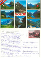 Multiview, Norway Postcard Posted 2004 Stamp - Norvegia
