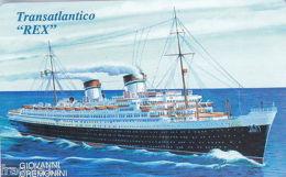 SAN MARINO PHONE CARD 2005 - TRANSATLANTICO REX - € 4,00 - Autres Collections