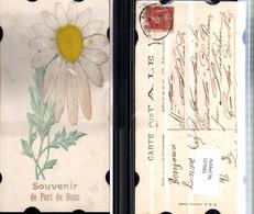 527665,handgemachte Material AK Sonnenblume Blume - Ansichtskarten