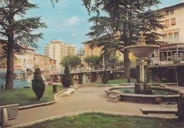 ITALIA - CASTELNOVO DE' MONTI (RE) - FONTANA GIARDINI - CARTOLINA VIAGGIATA 1974 - Reggio Nell'Emilia