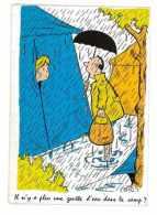 CPSM HUMOUR ILLUSTRATEUR SIC IL N'Y A PLUS D'EAU - Künstlerkarten
