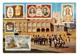 CPSM TIMBRES DE MONACO - Stamps (pictures)
