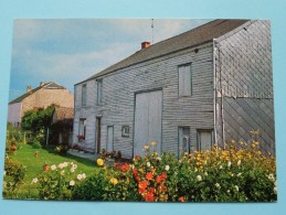 Maison Typique Du Pays Des Riezes Et Des Sarts / Anno 19?? ( Zie Foto Voor Details ) !! - Cul-des-Sarts