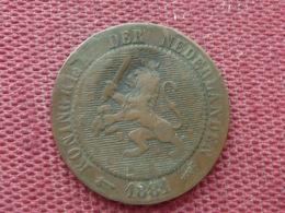 PAYS BAS Monnaie De 2 1/2 Cents 1881 Assez Rare - [ 3] 1815-… : Reino De Países Bajos
