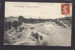 CPA ALGERIE - M'SILA - L'Oasis De OUED-KSOB - TB PLAN Pièce D'eau + Village Sur Le Côté à Droite - M'Sila