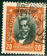 CILE, CHILE, POSTA AEREA, COMMEMORATIVO, MANUEL BULNES, 1928, FRANCOBOLLO USATO, Scott C6 - Chile