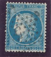 N°60A TYPE I VARIÉTÉ CASSURE FILET.