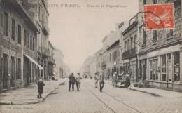 FIRMINY -42- RUE DE LA REPUBLIQUE - BELLE ANIMATION - Firminy