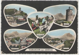 09 - TARASCON SUR ARIEGE  - Multivues - Autres Communes