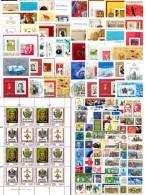 99 Blocks/KB/ZD 1960-1990 DDR **/o 320€ Sport Natur Technik Politik Blocs Hb Hojitas Topic M/s History Sheets Bf Germany - Stamps