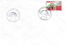 """LARCHE ( ALPES DE HAUTE PROVENCE) :CYCLISME Oblitération Temporaire TOUR D'ITALIE """"GIRO"""" 1996 RARE - Cyclisme"""