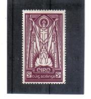 """SAR323  IRLAND  1937  Michl  63 WZ 1   ** Postfrisch """" Siehe ABBILDUNG - 1937-1949 Éire"""