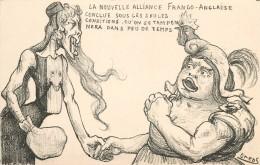 ORENS (illustrateur)-   La Nouvelle Alliance Franco-Anglaise. - Orens