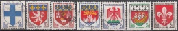 France 1958 Yvert 1180 - 1186 O Cote (2012) 1.05 Euro Armoiries Des Villes Cachet Rond - France