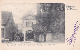 Souvenir De WALCOURT - La Grande Porte De L'ancienne Abbaye Du Jardinet - Walcourt
