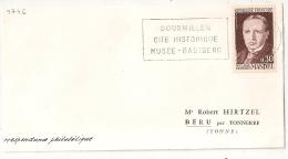 BOUXWILLER Bas Rhin Sur DEVANT DE LETTRE. Georges MANDEL. - Postmark Collection (Covers)