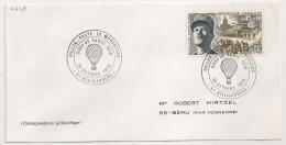 HEILIGENBERG Bas Rhin Sur ENVELOPPE. 1970. - Postmark Collection (Covers)
