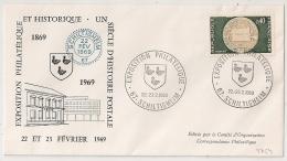 SCHILTIGHEIM  Bas Rhin Sur Enveloppe. 1969 - Postmark Collection (Covers)