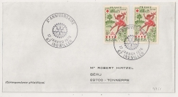 INGWILLER Bas Rhin Sur Enveloppe. 1976. - Postmark Collection (Covers)
