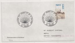HOERDT Bas Rhin Sur Enveloppe. 1977. - Postmark Collection (Covers)