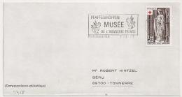 PFAFFENHOFFEN Bas Rhin Sur Enveloppe. 1977. - Postmark Collection (Covers)