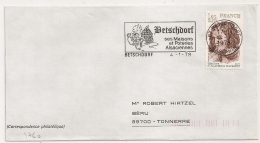 BETSCHDORF Bas Rhin Sur Une Enveloppe. 1978. - Postmark Collection (Covers)