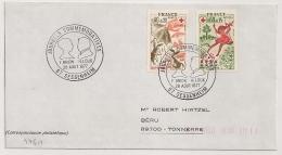 SESSENHEIM Bas Rhin Sur Une Enveloppe. 1977. - Postmark Collection (Covers)