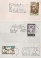 MOLSHEIM Bas Rhin Alsace ELSASS Sur 3 ENVELOPPES. - Postmark Collection (Covers)