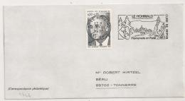 LE HOHWALD Bas Rhin Alsace ELSASS Sur Une ENVELOPPE. - Postmark Collection (Covers)