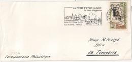 LA PETITE PIERRE Bas Rhin Alsace ELSASS Sur Un DEVANT D'ENVELOPPE. - Postmark Collection (Covers)