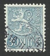 Finland, 30 M. 1956, Sc # 323, Used. - Finland
