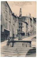 CPA - LE PUY (Haute Loire) - La Fontaine Des Tables - Le Puy En Velay