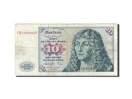 République Fédérale Allemande, 10 Deutsche Mark, 1970-1980, KM:31b, 1977-0... - [ 7] 1949-… : FRG - Fed. Rep. Of Germany