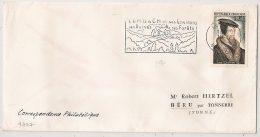 LEMBACH Bas Rhin Sur ENVELOPPE. 1964 - Postmark Collection (Covers)