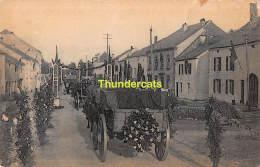CPA MANIFESTATION PATRIOTIQUE 1920 DES MARTYRS DE ROSSIGNOL - Tintigny