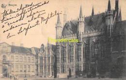 CPA BRUGGE BRUGES  L'HOTEL DE VILLE NELS SERIE 12 NO 78 - Brugge