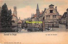 CPA BRUGGE BRUGES  SOUVENIR DE LE QUAI DU ROSAIRE NELS SEREI 12 NO 56 - Brugge