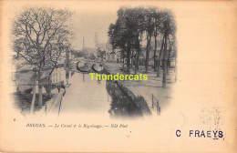 CPA BRUGGE BRUGES  LE CANAL ET LE BEGUINAGE - Brugge