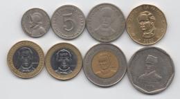 Dominicaine Dominica : Lot De 8 Pièces Différentes 1973-2007 : Dont 3 BIMETAL - Dominicaine
