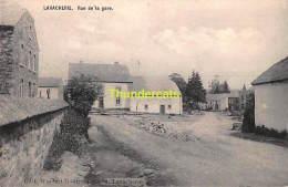 CPA LAVACHERIE  RUE DE LA GARE - Sainte-Ode