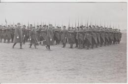 51 - CAMP DE CHALONS / CARTE PHOTO - REVUE DU 4è ZOUAVES - Camp De Châlons - Mourmelon