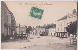 PUISSEAUX - PLACE DE REPUBLIQUE (LOIRET) - N° 4226 - Puiseaux