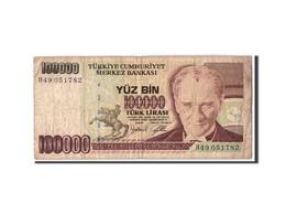 Turquie, 100,000 Lira, L.1970 (1997), KM:206, B - Turquie