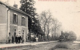 S ETIENNE-de-TULMON (Tarn Et Garonne)  - La Gare - Saint Etienne De Tulmont